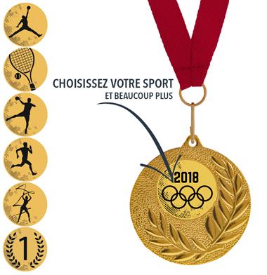 Médaille Sport Football